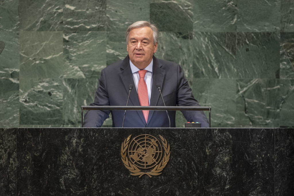 Opening of the General Debate of the Seventy-third Session of the United Nations General Assembly including a Moment of Silence for former Secretary-General Kofi A. Anna